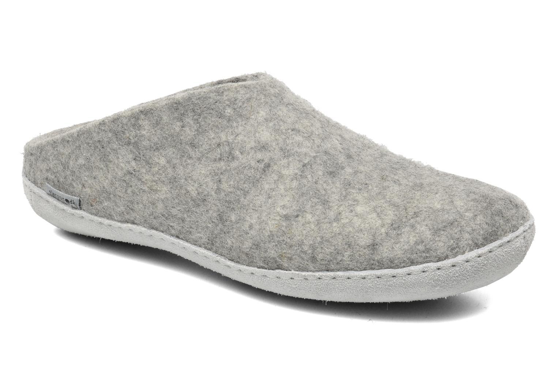 Hausschuhe Glerups Piras M grau detaillierte ansicht/modell
