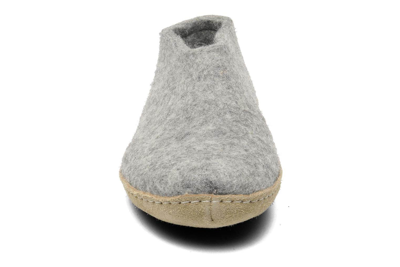 Slippers Glerups Porter W Grey model view