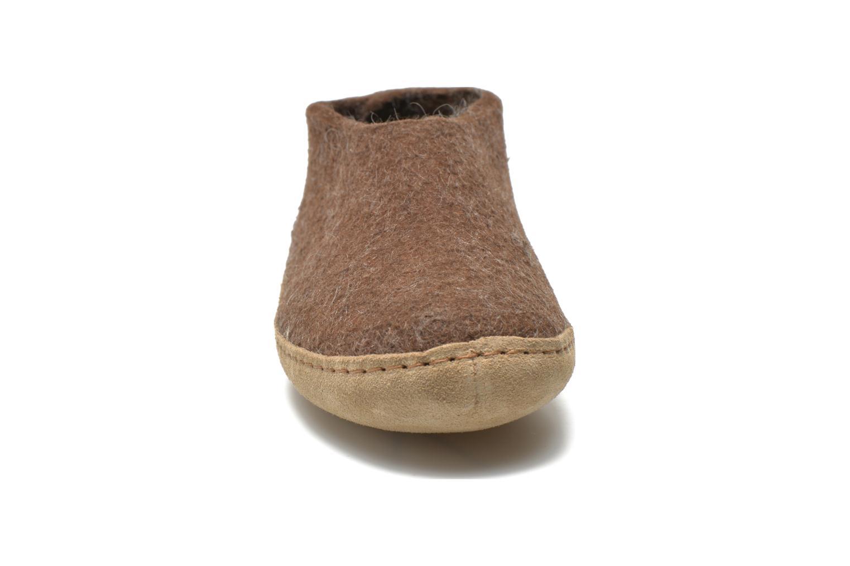 Pantoffels Glerups Porter W Bruin model