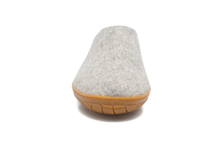Pantoffels Glerups Piras Gomme M Grijs model