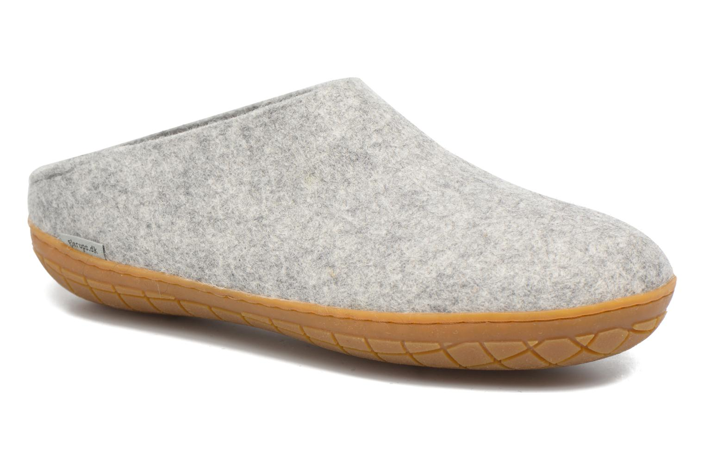Pantoffels Glerups Piras Gomme M Grijs detail