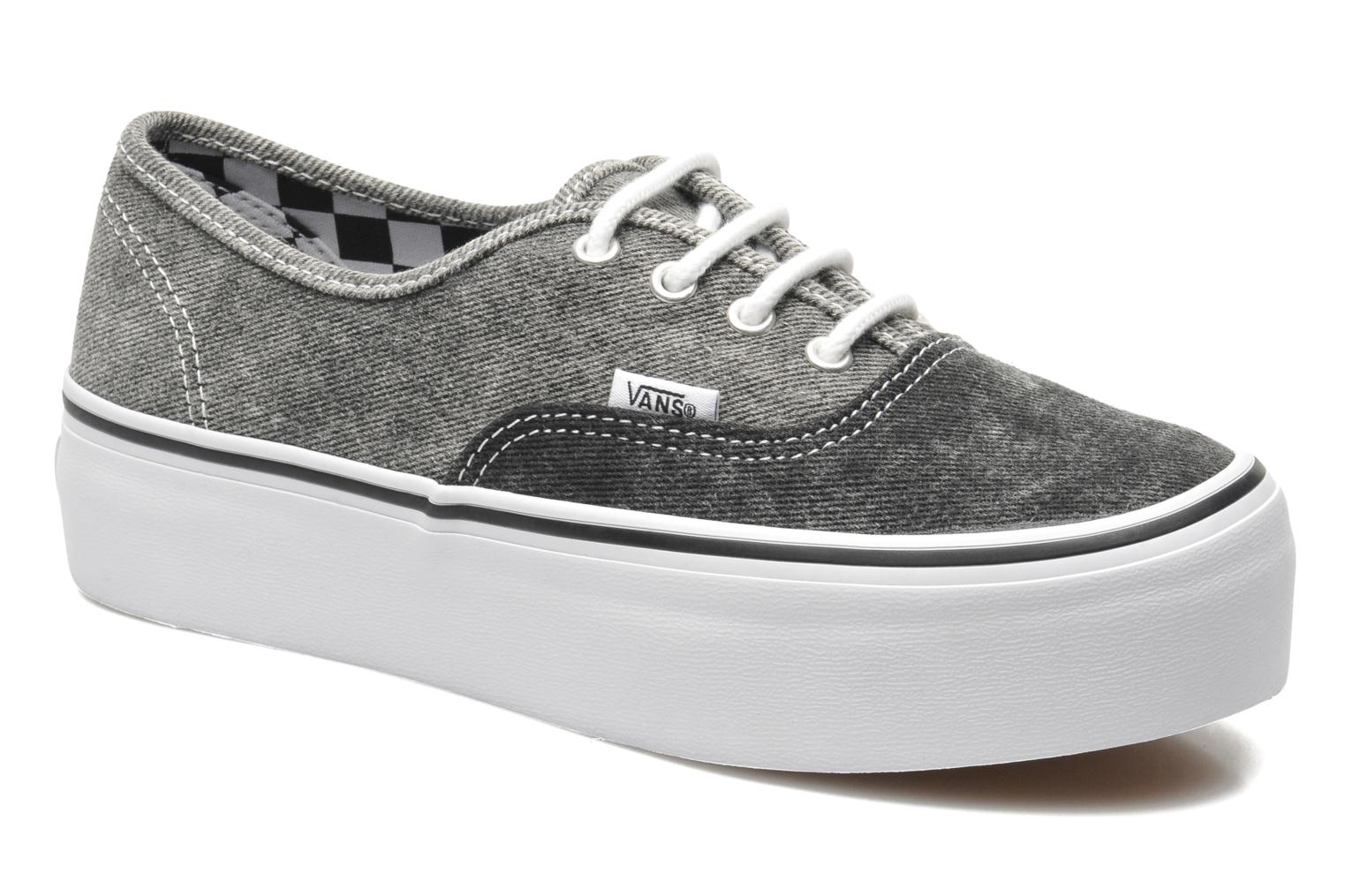vans authentic grau