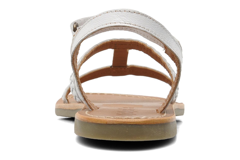 Sandalen Kickers Djerry V Wit rechts