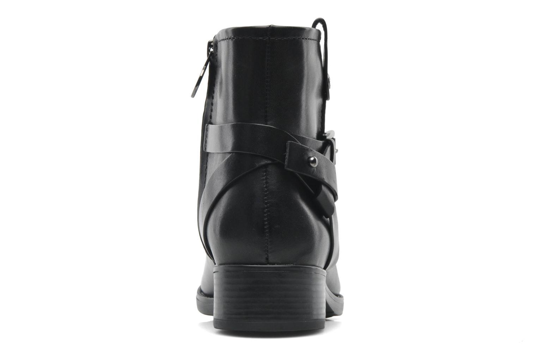 Boots en enkellaarsjes Geox D FELICITY E D44G1E Zwart rechts