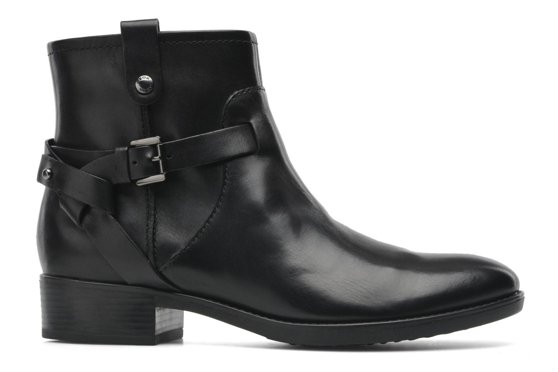 Boots en enkellaarsjes Geox D FELICITY E D44G1E Zwart achterkant