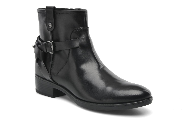 Boots en enkellaarsjes Geox D FELICITY E D44G1E Zwart detail