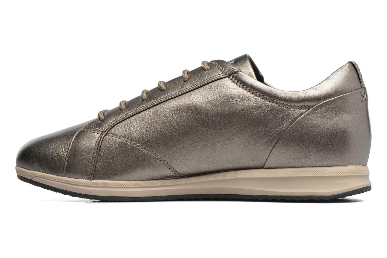 Sneakers Geox D AVERY B D44H5B Marrone immagine frontale