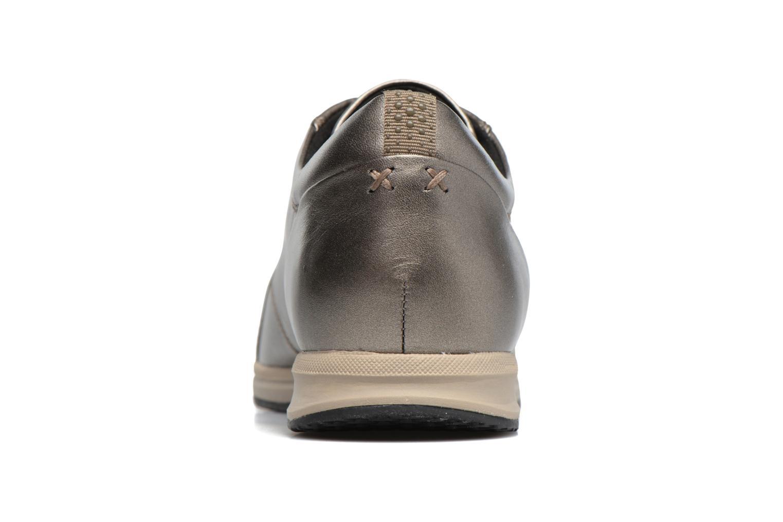 Sneakers Geox D AVERY B D44H5B Marrone immagine destra