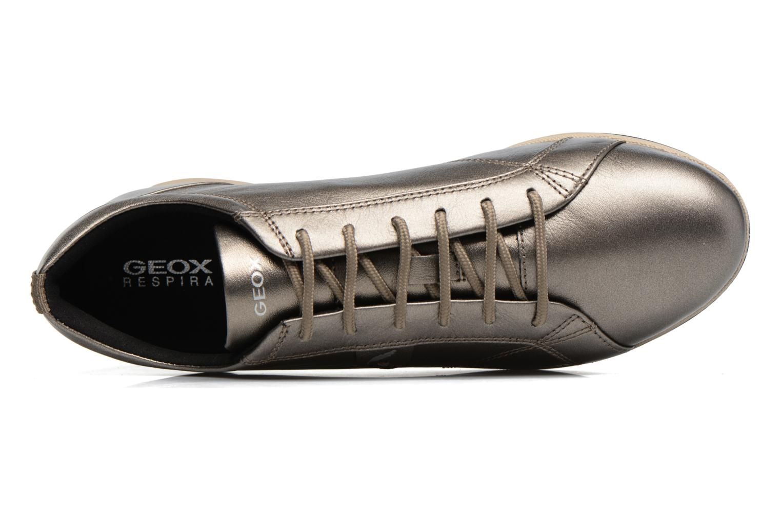 Sneakers Geox D AVERY B D44H5B Marrone immagine sinistra