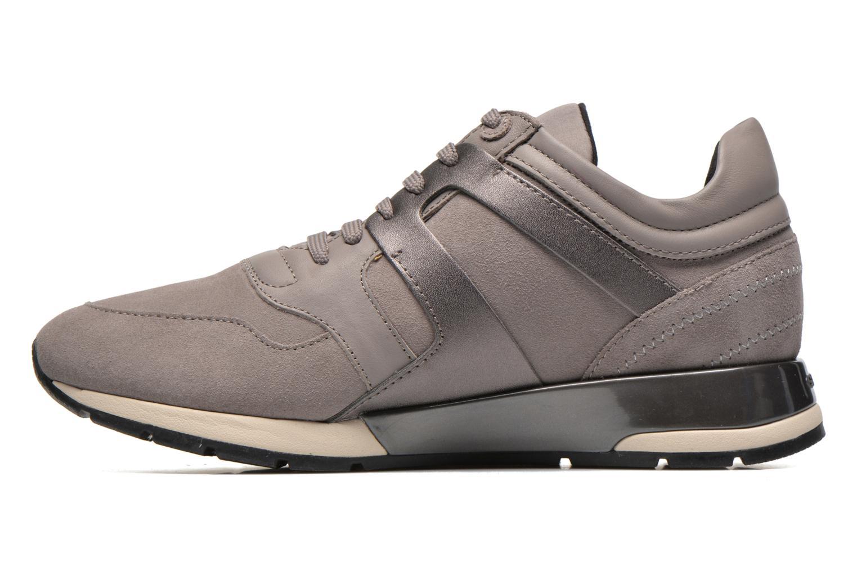 Sneaker Geox D SHAHIRA B D44N1B grau ansicht von vorne
