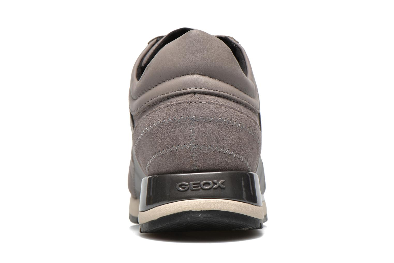 Sneaker Geox D SHAHIRA B D44N1B grau ansicht von rechts