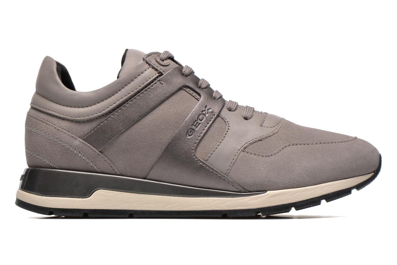 Sneaker Geox D SHAHIRA B D44N1B grau ansicht von hinten