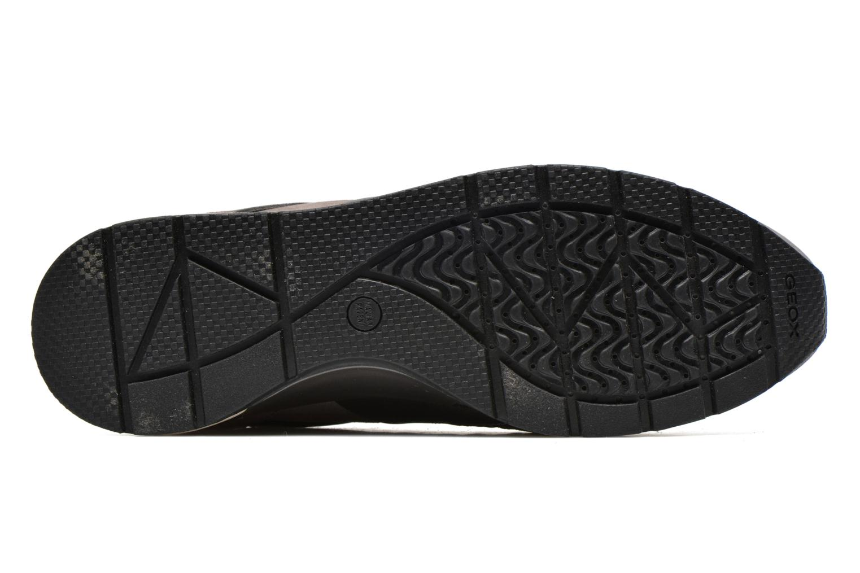 Sneaker Geox D SHAHIRA B D44N1B grau ansicht von oben