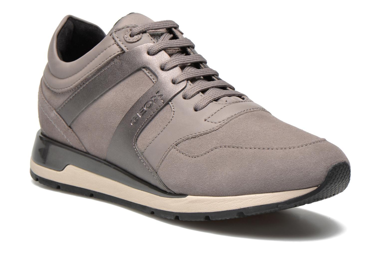 Sneaker Geox D SHAHIRA B D44N1B grau detaillierte ansicht/modell
