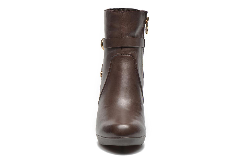Stiefeletten & Boots Geox D INSPIRAT.ST D44G9B braun schuhe getragen