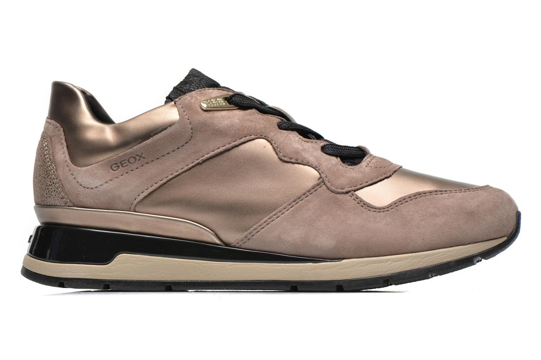 Sneakers Geox D SHAHIRA A D44N1A Goud en brons achterkant