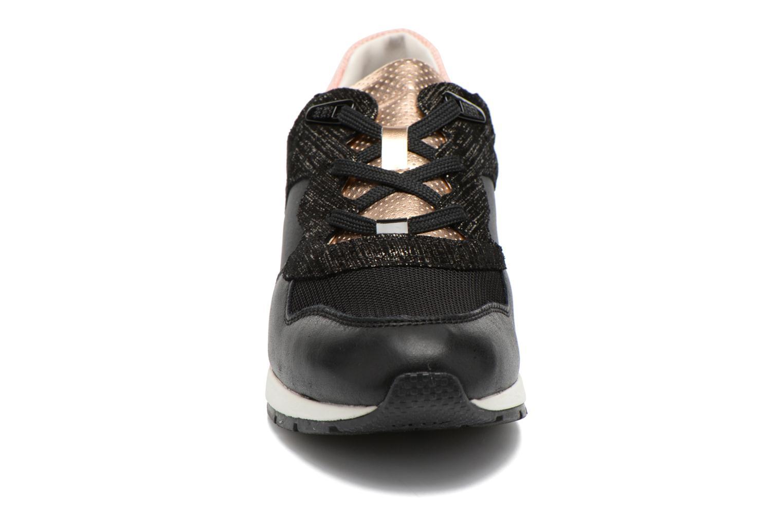 Sneaker Geox D SHAHIRA A D44N1A schwarz schuhe getragen