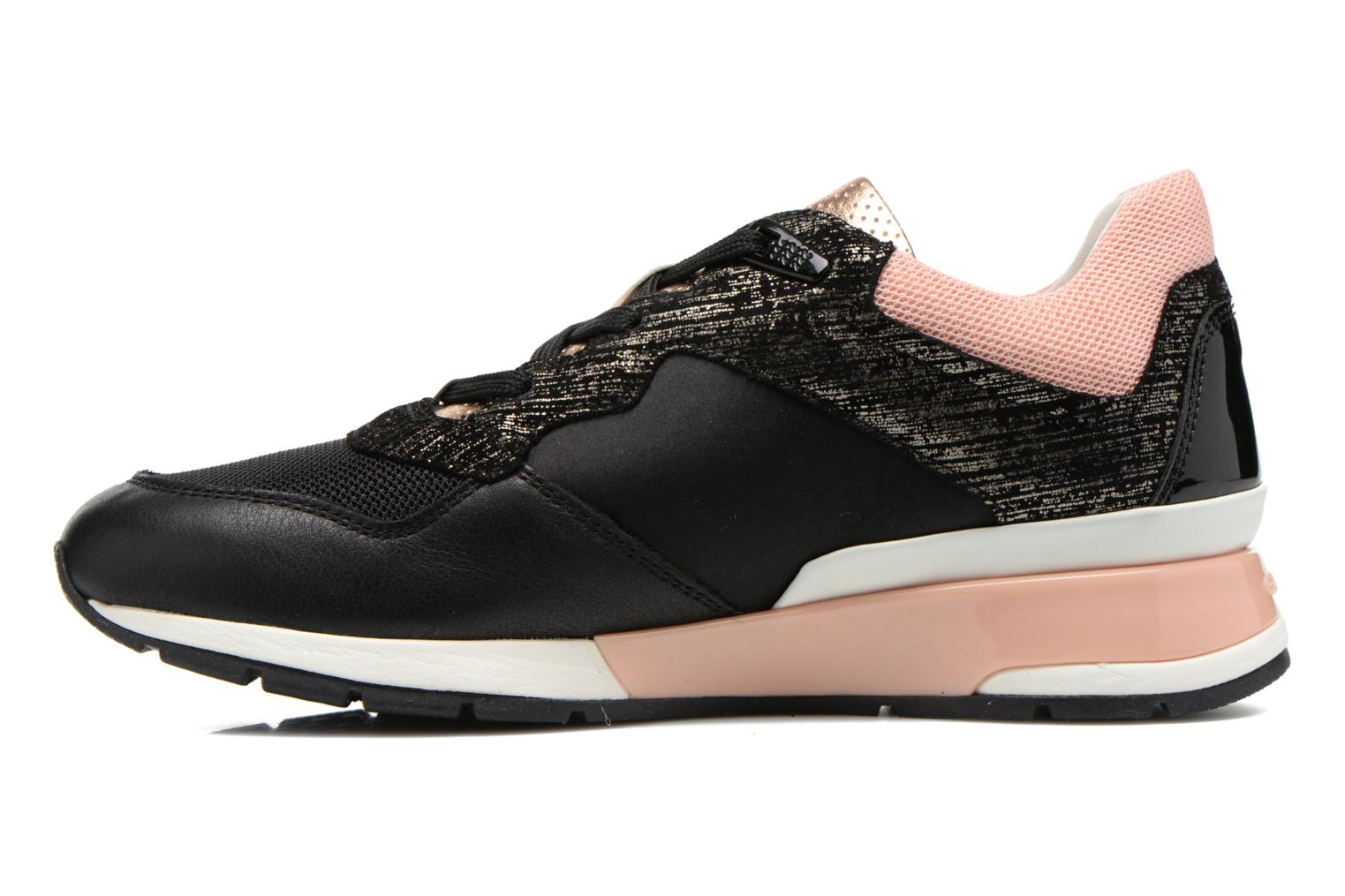 Sneakers Geox D SHAHIRA A D44N1A Nero immagine frontale