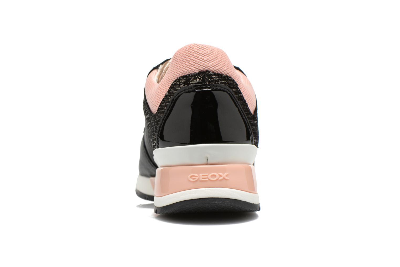 Sneaker Geox D SHAHIRA A D44N1A schwarz ansicht von rechts
