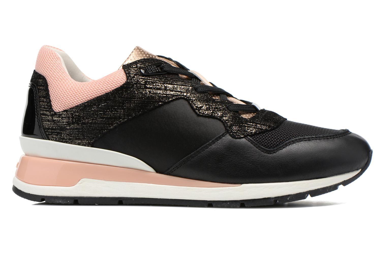 Sneakers Geox D SHAHIRA A D44N1A Zwart achterkant