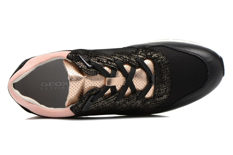 Sneaker Geox D SHAHIRA A D44N1A schwarz ansicht von links