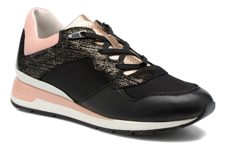 Sneakers Geox D SHAHIRA A D44N1A Zwart detail
