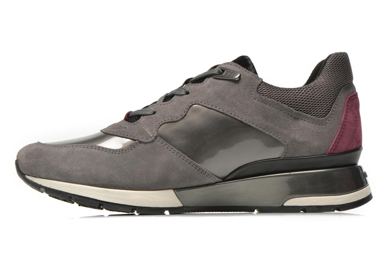 Sneaker Geox D SHAHIRA A D44N1A grau ansicht von vorne