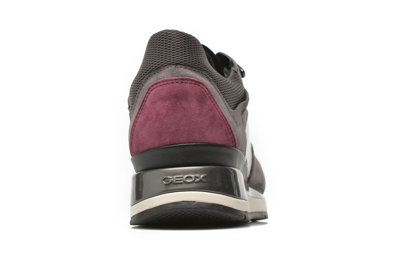 Sneakers Geox D SHAHIRA A D44N1A Grå Se fra højre
