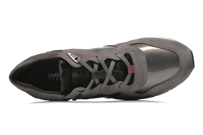 Sneaker Geox D SHAHIRA A D44N1A grau ansicht von links