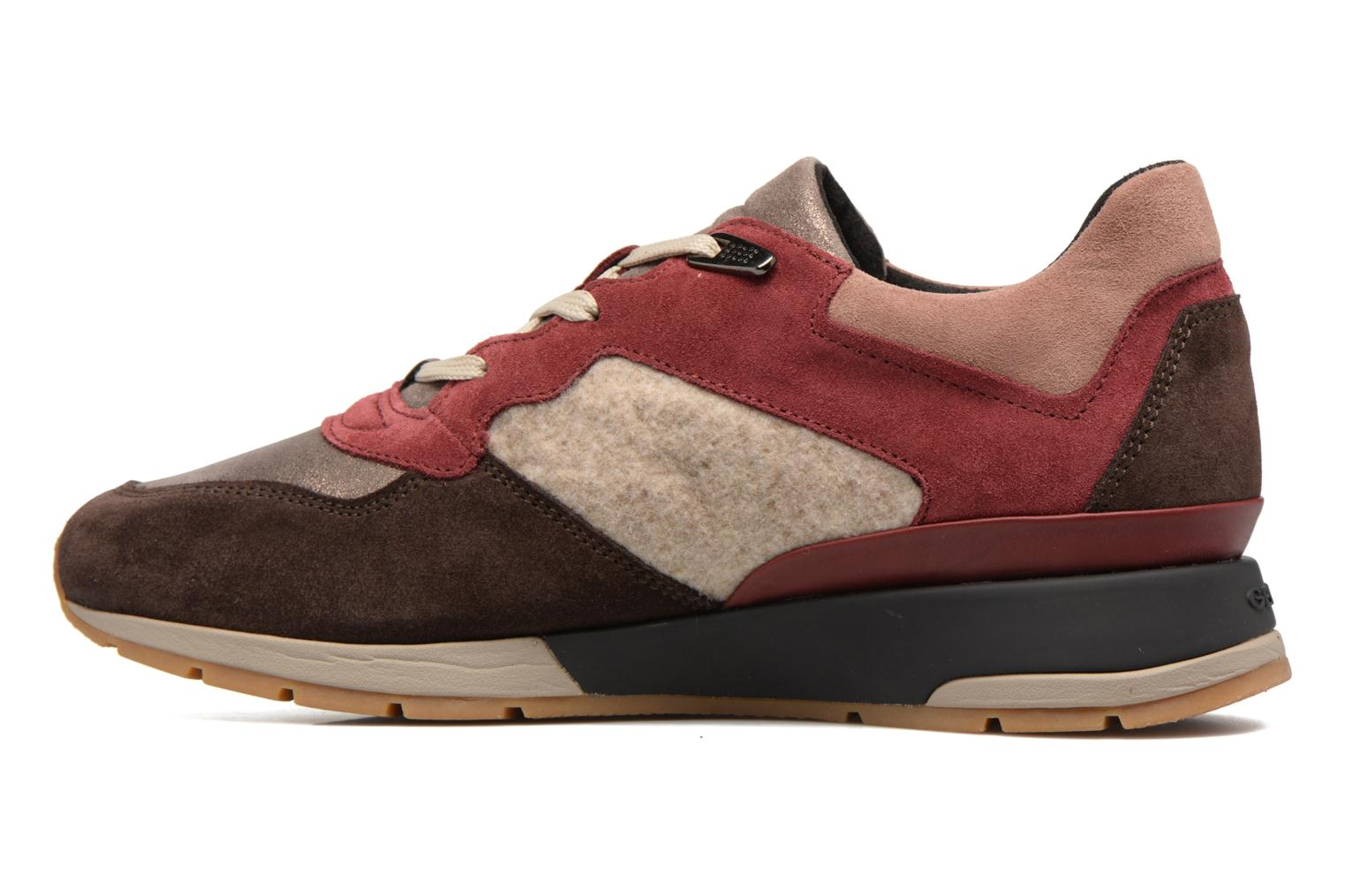 Sneakers Geox D SHAHIRA A D44N1A Multi se forfra