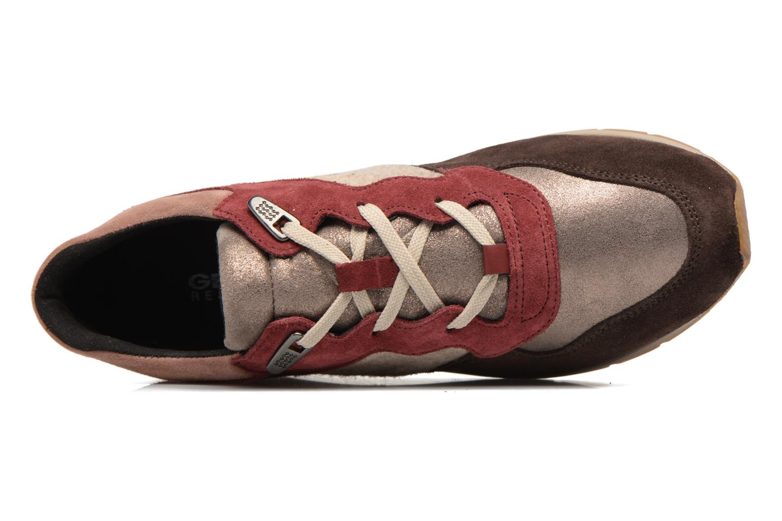 Sneakers Geox D SHAHIRA A D44N1A Multicolore immagine sinistra
