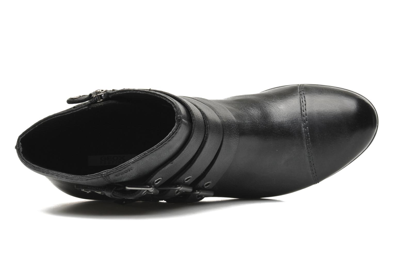 Boots en enkellaarsjes Geox D LUCINDA A D4470A Zwart links