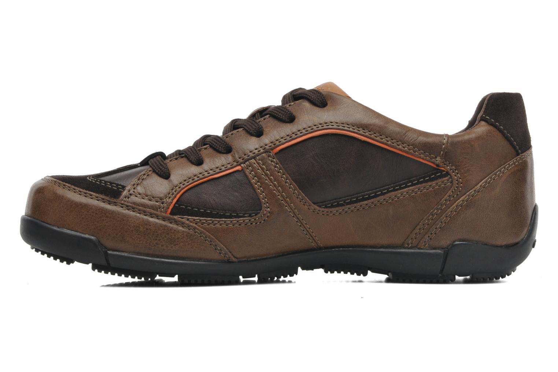 Sneakers Geox U CART B U44S4B Bruin voorkant