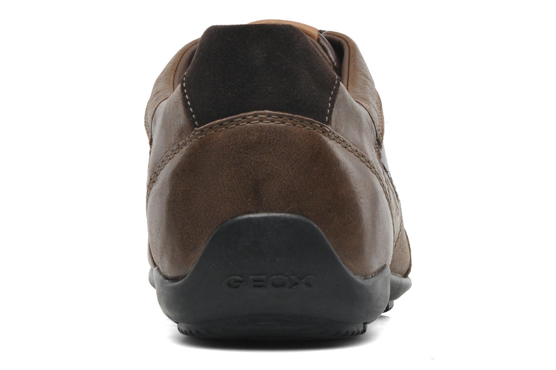 Sneakers Geox U CART B U44S4B Bruin rechts