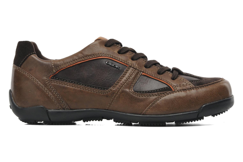 Sneakers Geox U CART B U44S4B Bruin achterkant