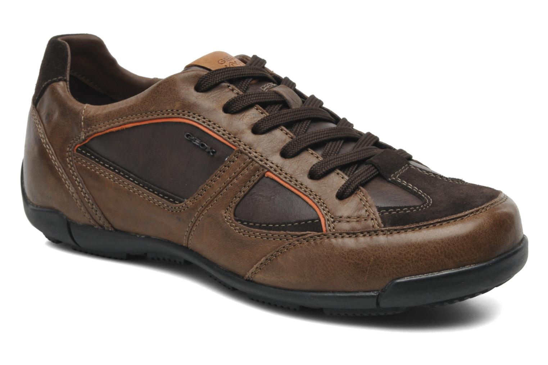Sneakers Geox U CART B U44S4B Bruin detail
