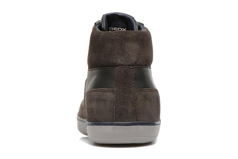 Sneakers Geox U BOX B U44R3B Grijs rechts