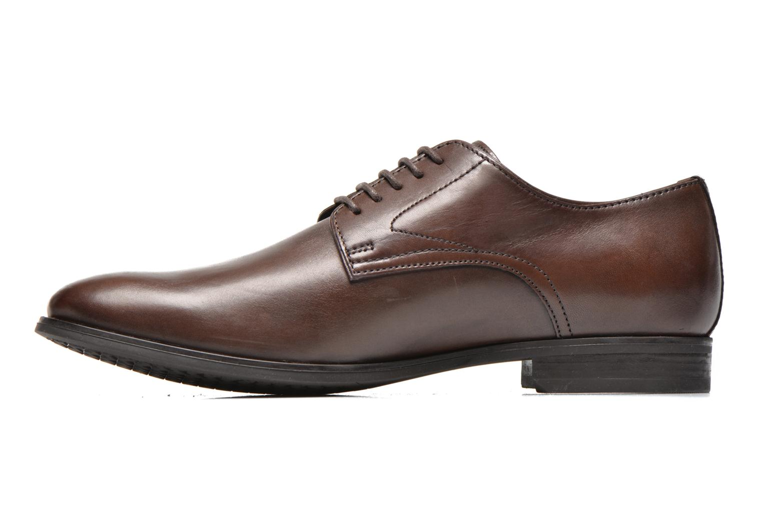 Lace-up shoes Geox U ALBERT 2FIT F U44W3F Brown front view