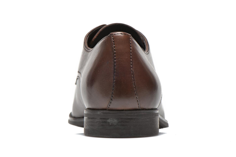 Chaussures à lacets Geox U ALBERT 2FIT F U44W3F Marron vue droite