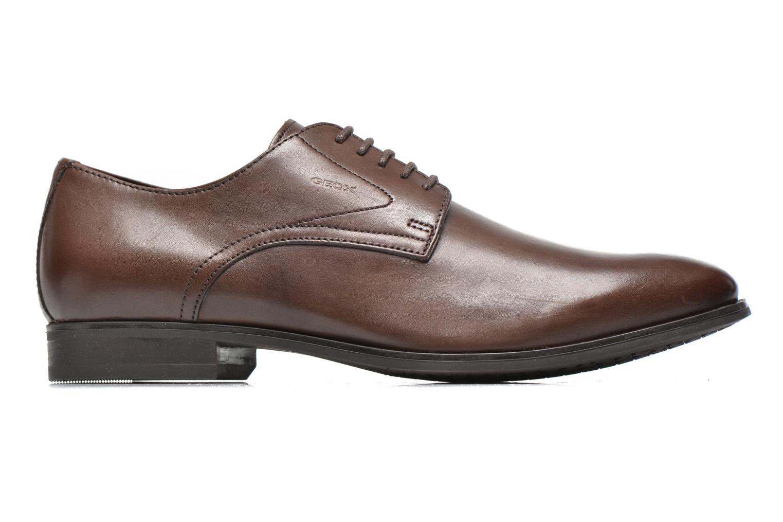 Lace-up shoes Geox U ALBERT 2FIT F U44W3F Brown back view