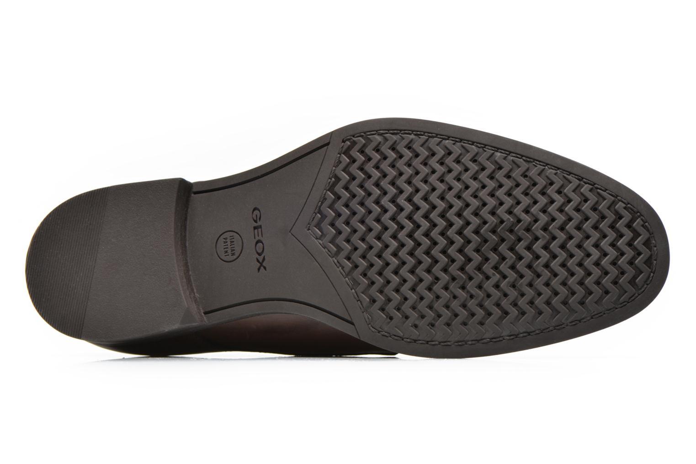 Chaussures à lacets Geox U ALBERT 2FIT F U44W3F Marron vue haut