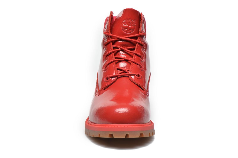 Botines  Timberland 6 In Premium WP Boot Rojo vista del modelo