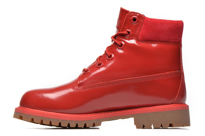 Botines  Timberland 6 In Premium WP Boot Rojo vista de frente