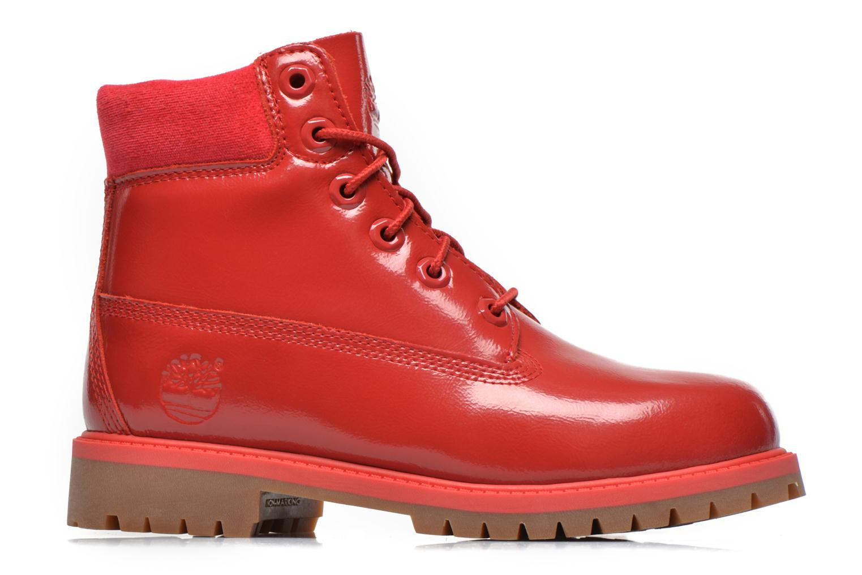 Botines  Timberland 6 In Premium WP Boot Rojo vistra trasera