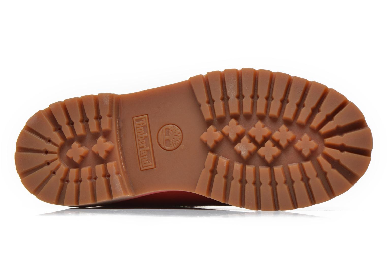 Botines  Timberland 6 In Premium WP Boot Rojo vista de arriba