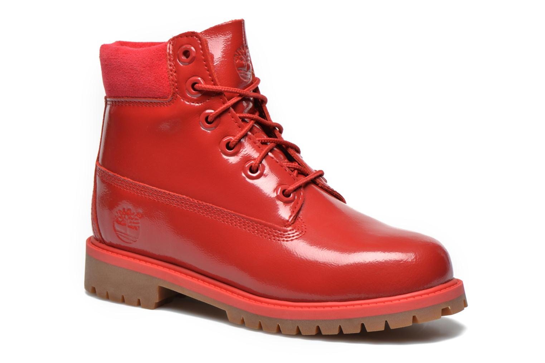 Botines  Timberland 6 In Premium WP Boot Rojo vista de detalle / par