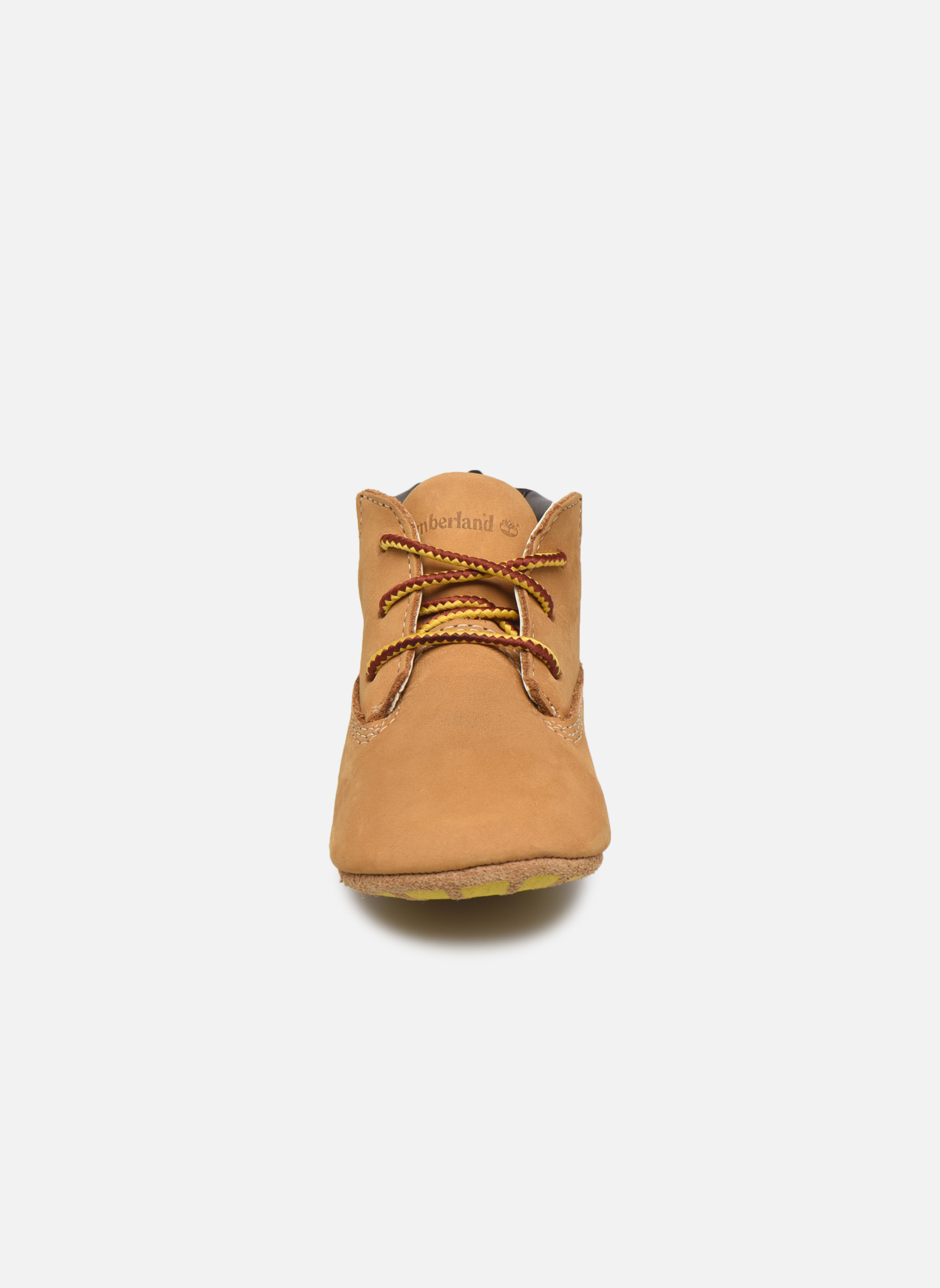 Chaussons Timberland Crib Bootie with Hat Beige vue portées chaussures