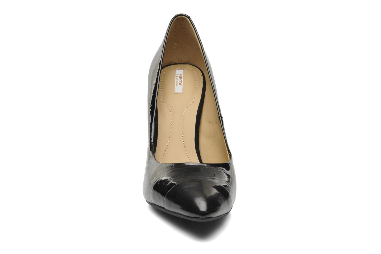 Escarpins Geox D CAROLINE B D44W1B Noir vue portées chaussures