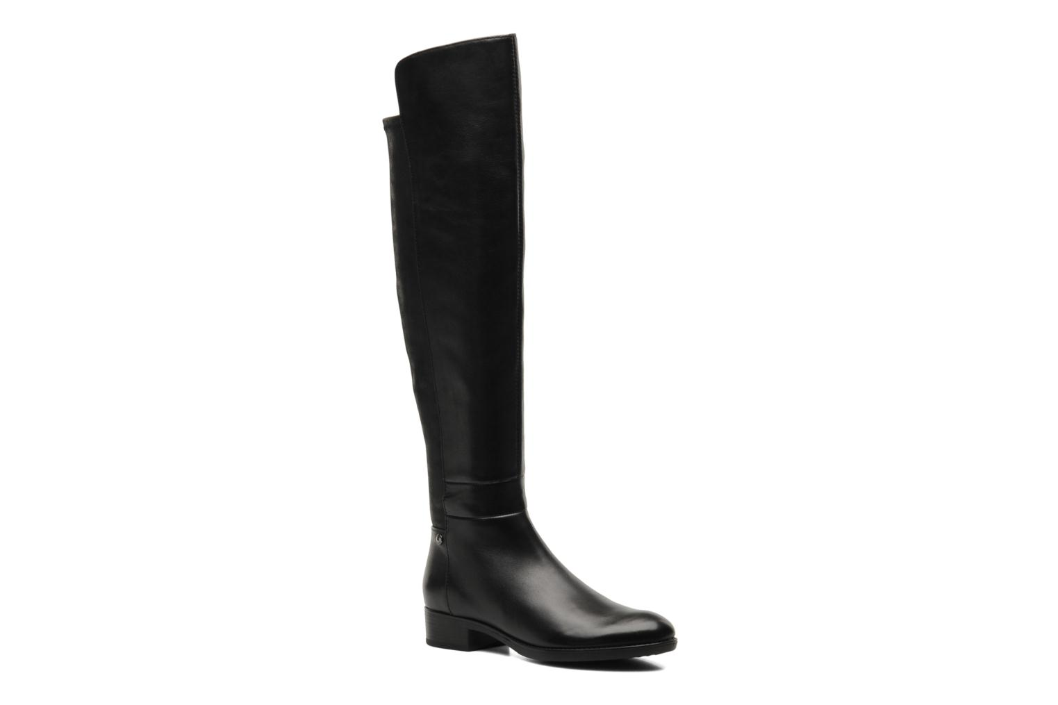 Boots & wellies Geox D FELICITY J D44G1J Black detailed view/ Pair view