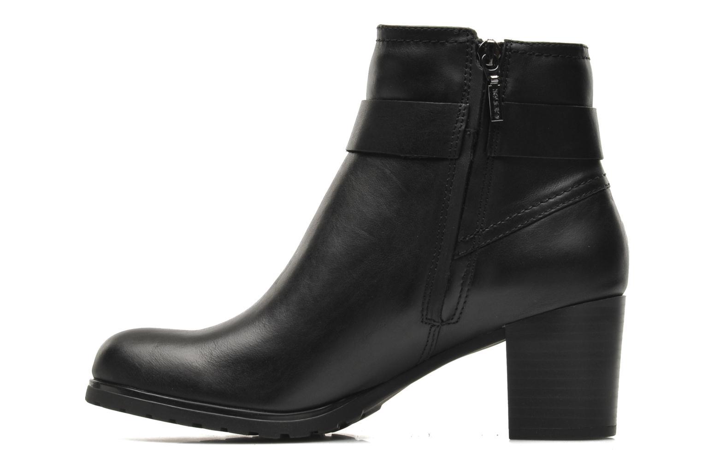 Boots en enkellaarsjes Geox D LISE ABX B D44D1B Zwart voorkant